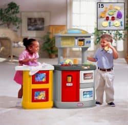 Double Up Kitchen & Laundry Centre CXC TOYS