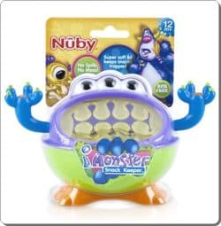 Nuby 3 D Monster Snack Keeper2-CXCTOYS-CYPRUS
