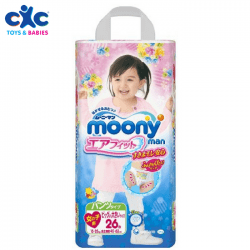 moonys girls diapers