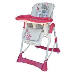 bebe stars-pink baby high chairs-cxctoys-limassol-cyprus