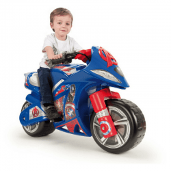marvel avengers battery ride on- motorbike kids- injusa-cxctoys-limassol-cyprus