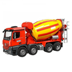 Bruder - Mercedes Benz Arocs Cement Mixer Truck -cxctoys-limassol-cyprus