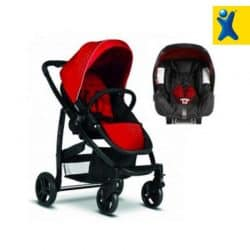 graco evo -red-stroller-carseat-cxctoys-limassol