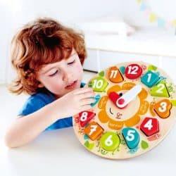 hapetoys-wood toys-clock puzzle-limassol-cyprus