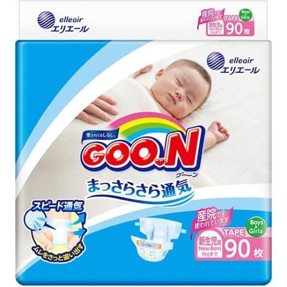 GOON Diapers – Newborn (0-5kg)