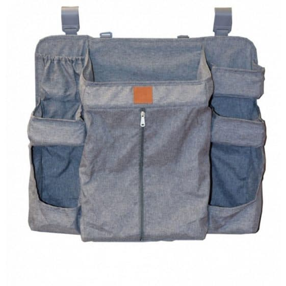 Organizer for Bed- Playpen Grey