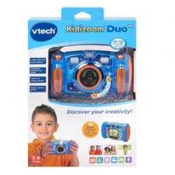 VTech Kidizoom DUO Kids Camera 5.0 - Blue -cyprus-cxctoys