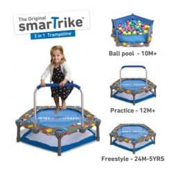 Smart Trike 3 in 1-Trampoline activicty center-cxctoys-limassol