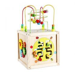 multi-activity cube-wooden toys-limassol