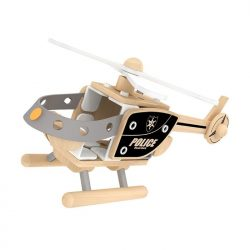 Police Helicopter-woodentoys-cyprus