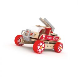 Fire Engine-cxctoys-wooden toys-cyprus