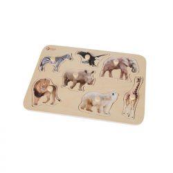 Safari Puzzle-wooden toys-limassol-cyprus