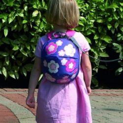 Toddler Daysack - Flowers - with lead Rein-cxctoys-limassol